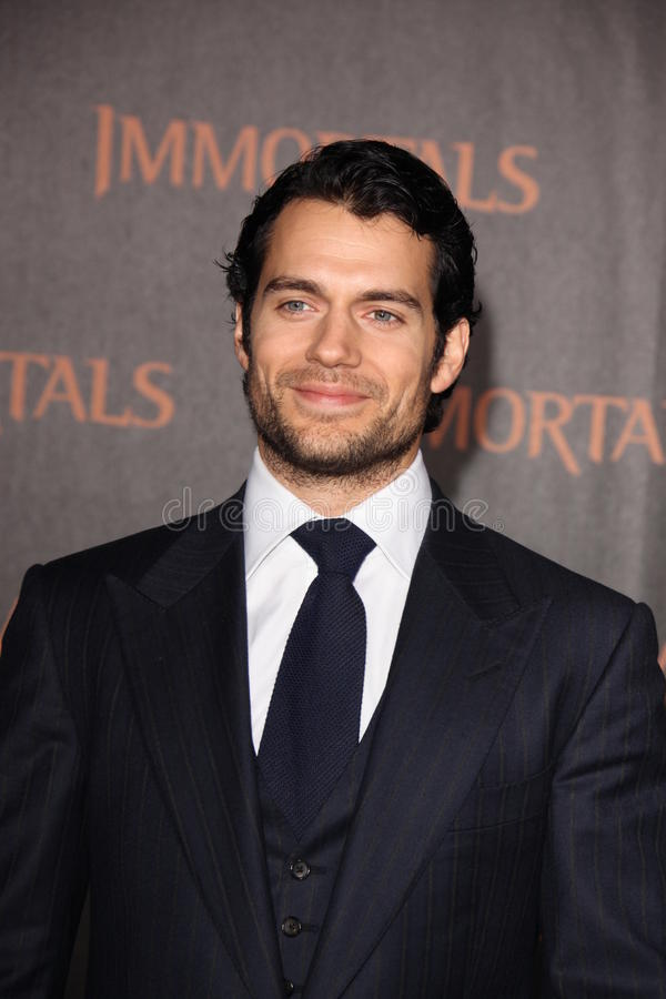 Download Henry Cavill editorial stock image. Image of angeles - 22764799