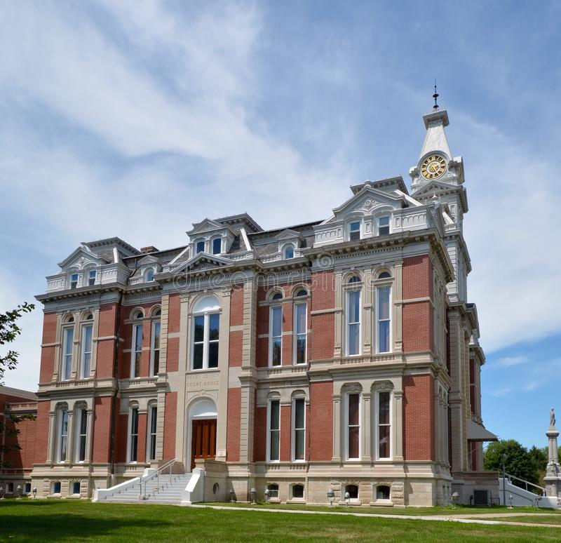 Free Henry County Courthouse Royalty Free Stock Image - 57427086
