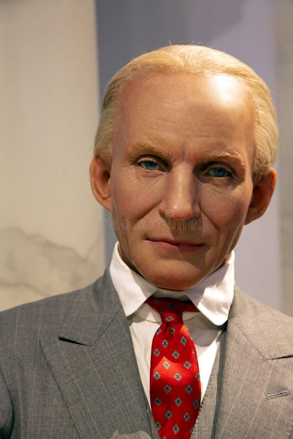 Henry Ford in Mevrouw Tussauds van New York royalty-vrije stock foto