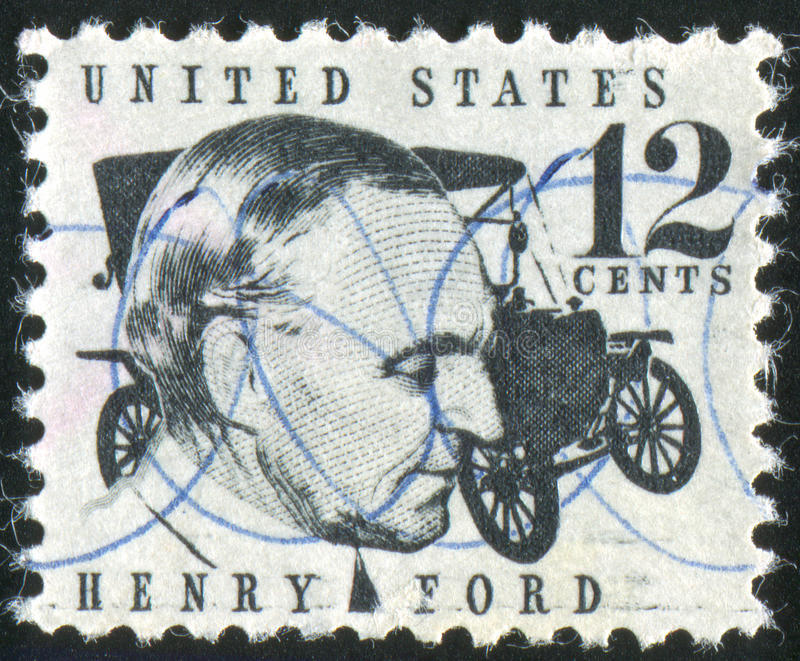 Henry Ford royalty free stock photo