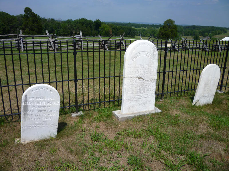 Henry House Gravestones stock photography