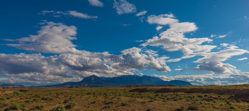 Henry Mountains photo libre de droits