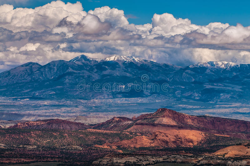 Henry Mountains images stock