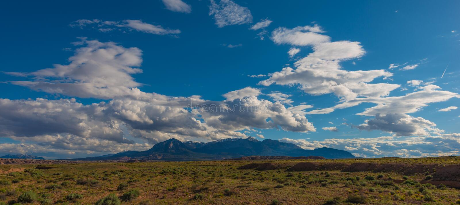 Henry Mountains royalty free stock photo