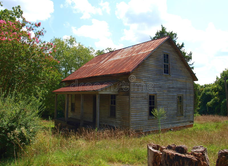 Henry River Mill Village stockbild