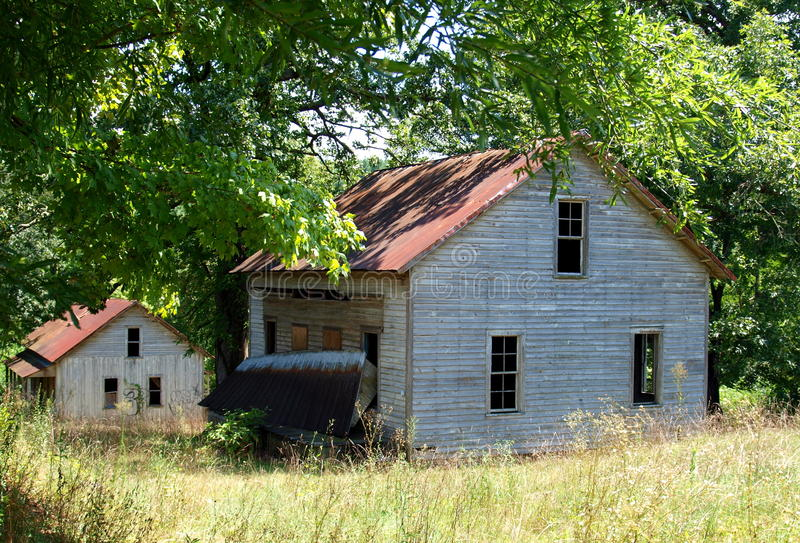 Henry River Mill Village. The ghost town of Henry River Mill Village in North Carolina was the filming location of District 12 in the movie The Hunger Games royalty free stock photography