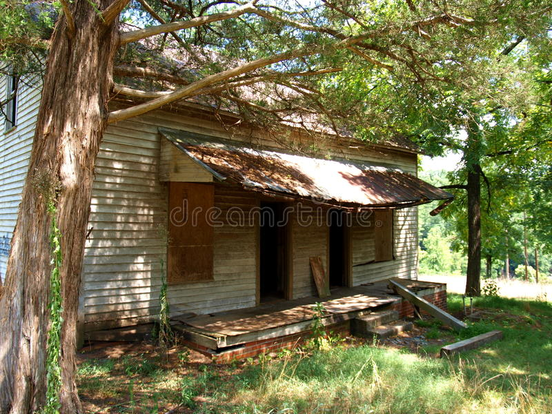 Henry River Mill Village. The ghost town of Henry River Mill Village in North Carolina was the filming location of District 12 in the movie The Hunger Games royalty free stock photo