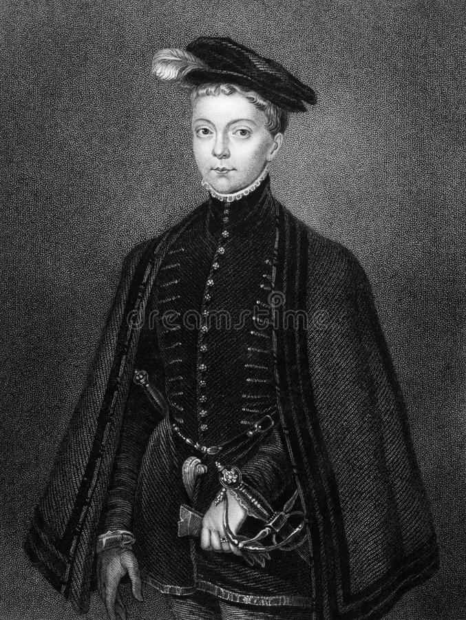 Henry Stuart, Lord Darnley stockbild