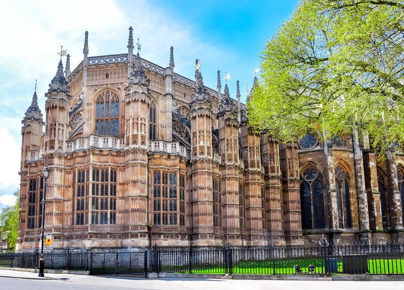 Henry VII Kapel, de Abdij van Westminster, Londen, het UK royalty-vrije stock foto