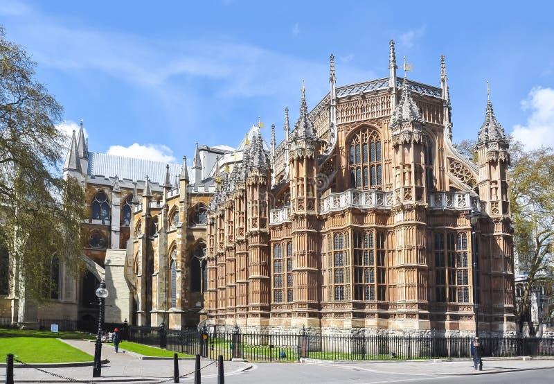 Henry VII kaplica, opactwo abbey, Londyn, UK obraz stock