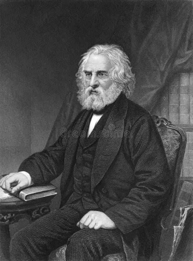 Henry Wadsworth Longfellow image stock