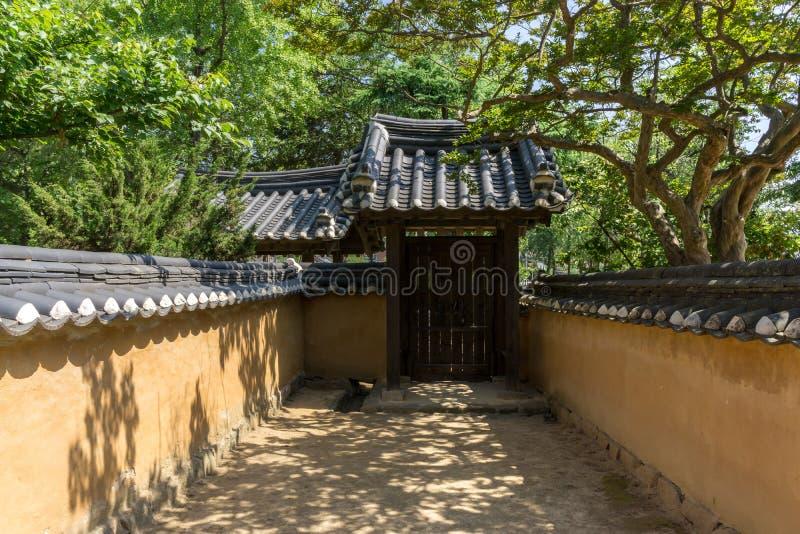 Heo Gyun i Heo Nanseolheon Memorial Park zdjęcie royalty free