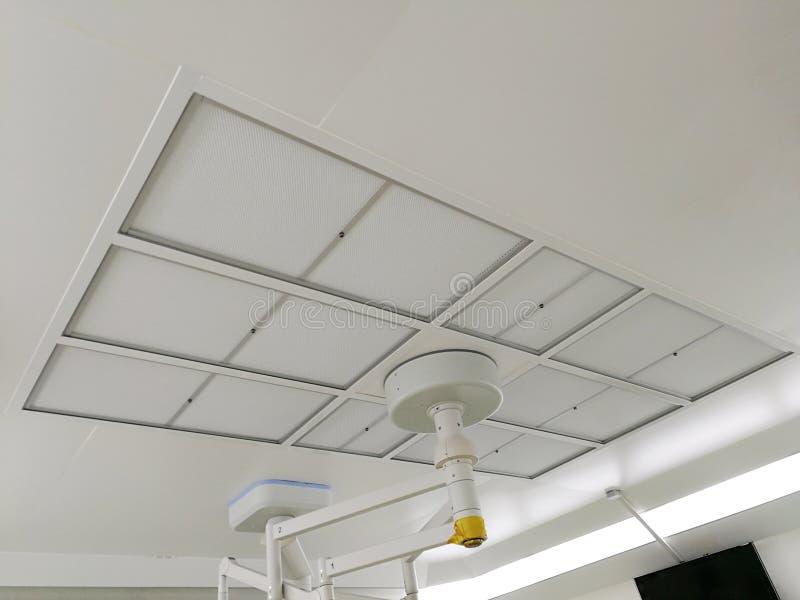 HEPA-Filter en Huisvestingsfilter, de Filter van de Gelverbinding HEPA voor Cleanroom stock foto's