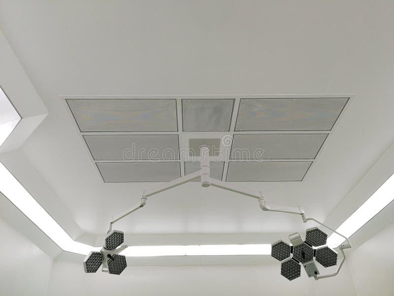 HEPA-Filter - Leveringslucht in Werkende Zaal stock afbeeldingen