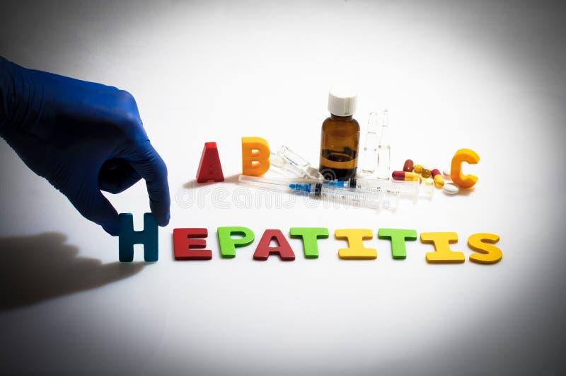 hepatitis imagem de stock