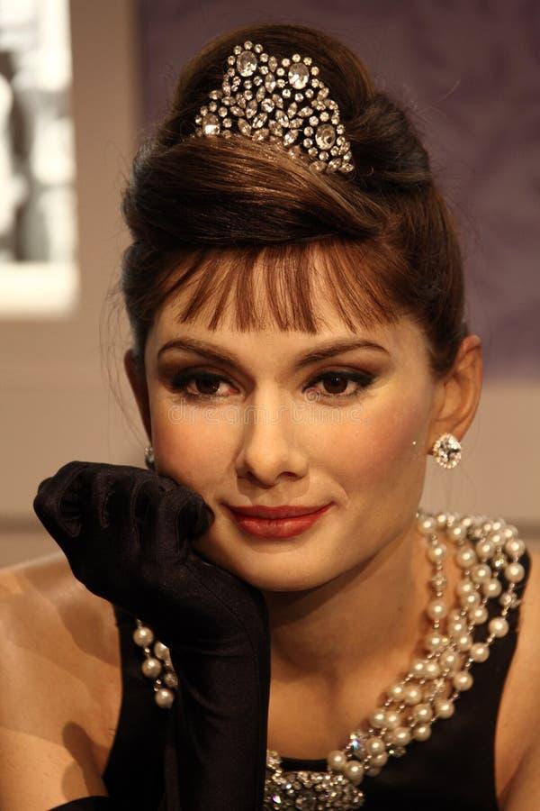 Hepburn de Audrey imágenes de archivo libres de regalías