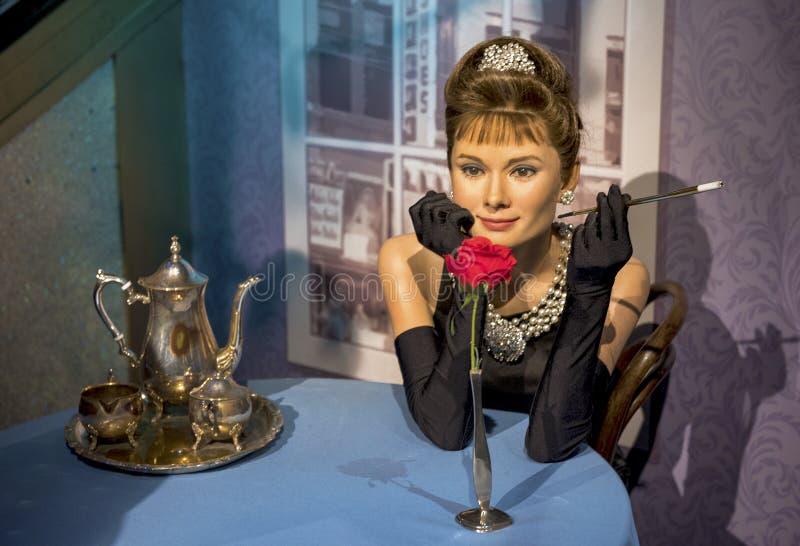 Hepburn de Audrey foto de archivo libre de regalías