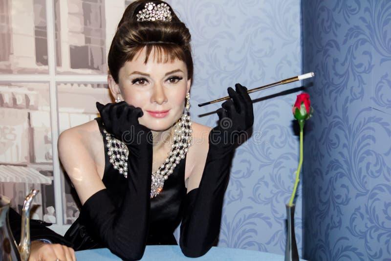 Hepburn di Audrey fotografia stock
