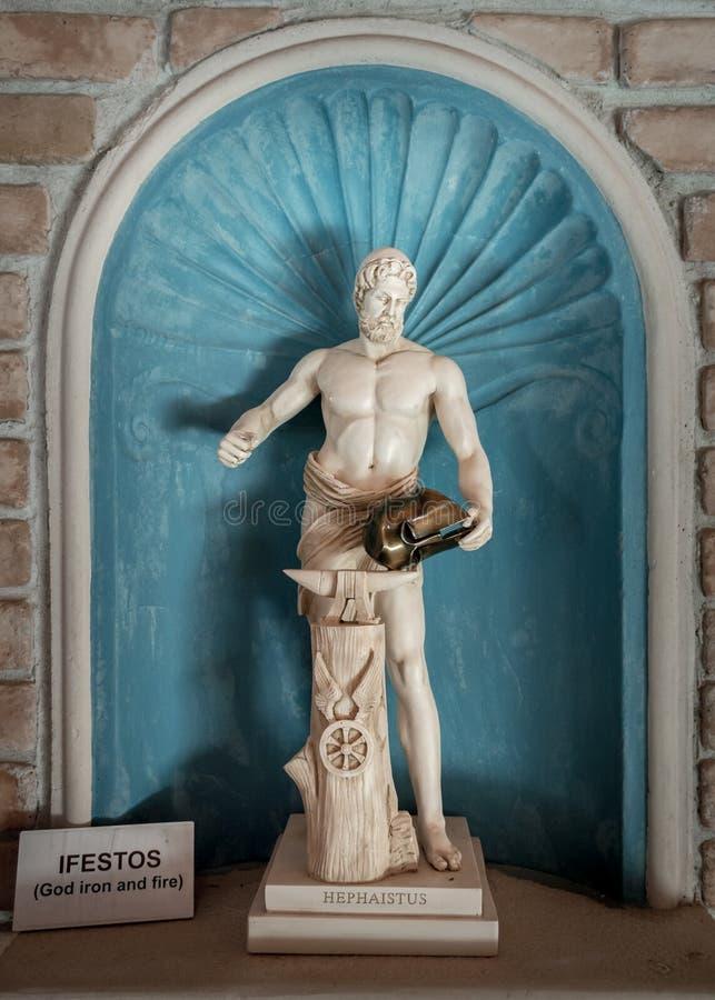 hephaestus royalty-vrije stock afbeelding