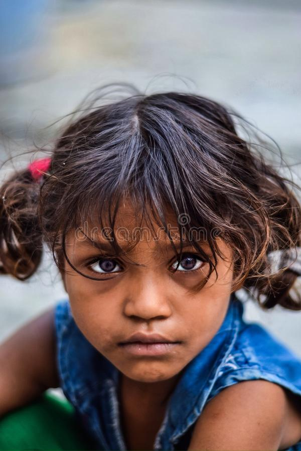 Her eyes royalty free stock photography