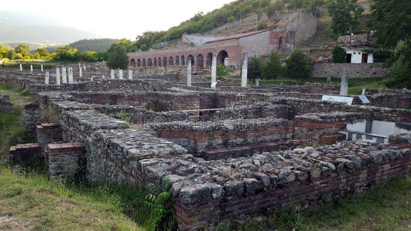 Heraclea Lyncestis, Bitola, Macédoine image stock