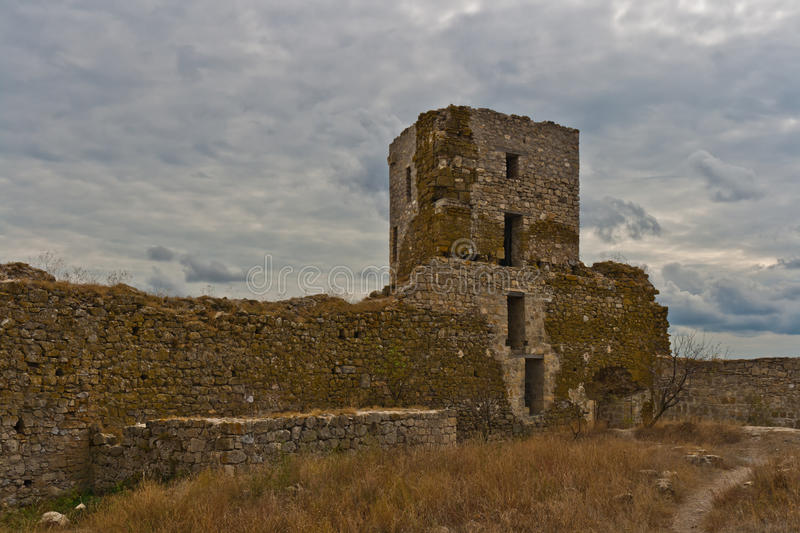 Heraclea Stronghold Detail Stock Images