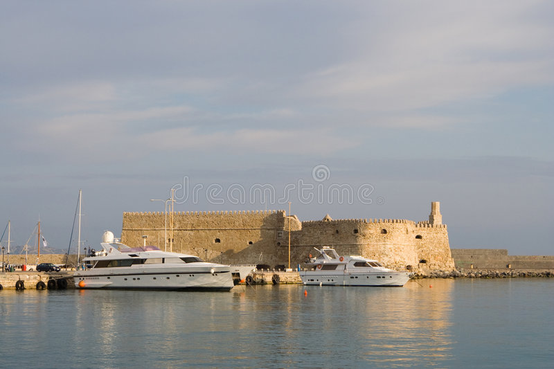 Heraklion, Crete, Greece royalty free stock image