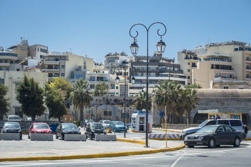 Heraklion port zdjęcie stock