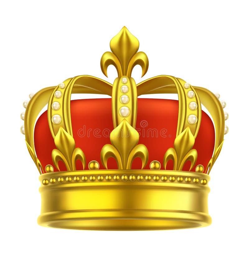 Heraldic значок кроны Король, ферзь, головной убор игры бесплатная иллюстрация