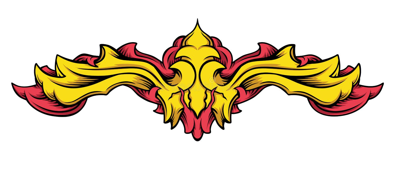 Download Heraldic Element Stock Image - Image: 16212511