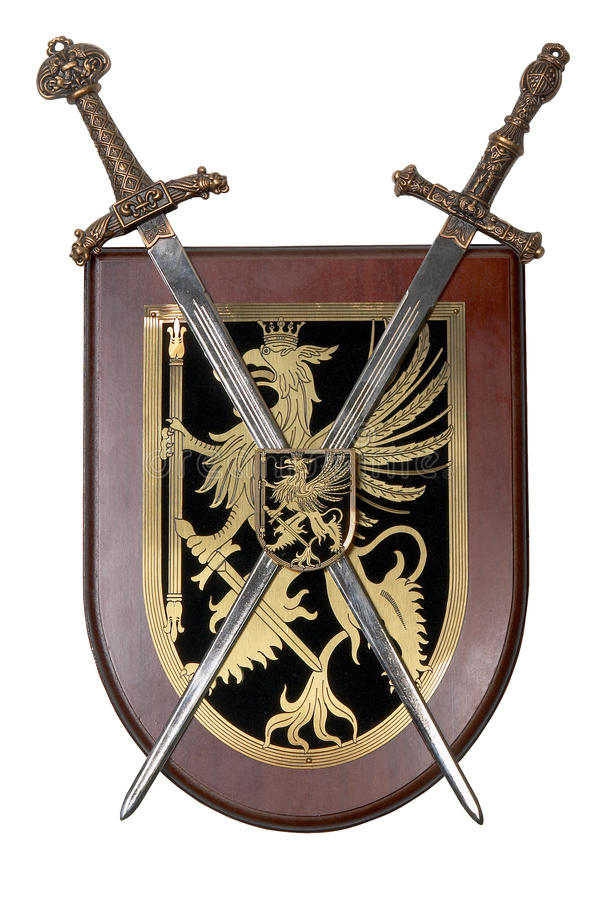 Heraldic Shield Royalty Free Stock Photography