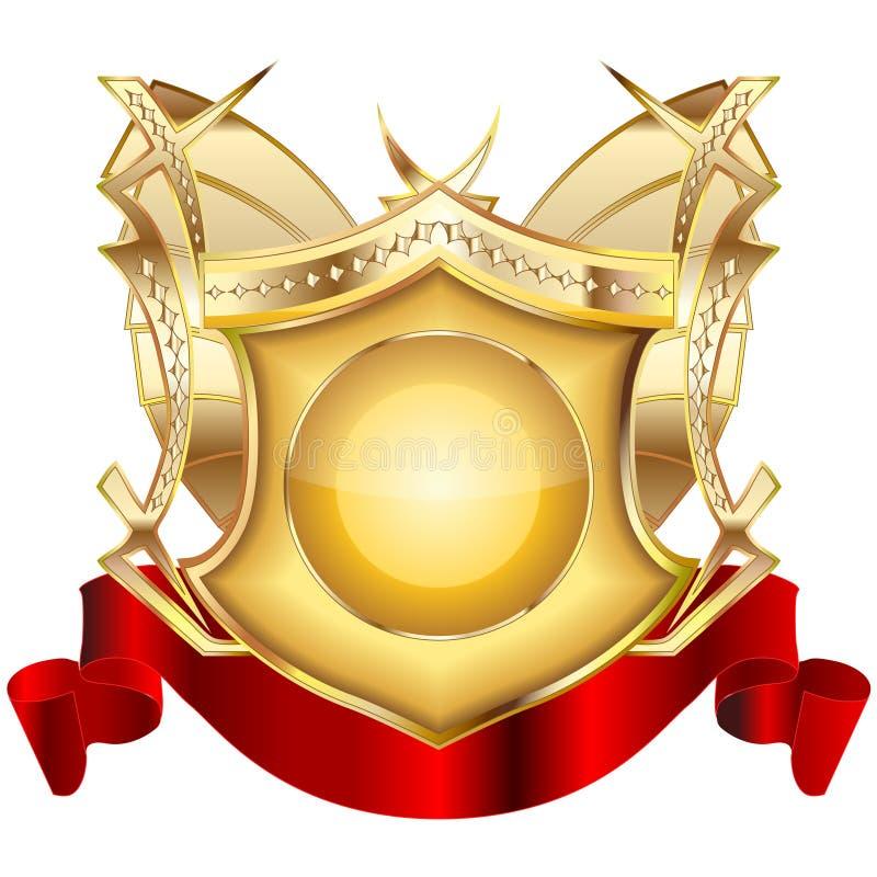 Download Heraldic Shield V.3 Royalty Free Stock Images - Image: 13084759