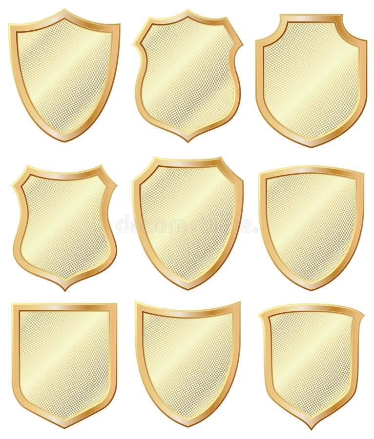 Heraldisch Schild royalty-vrije illustratie