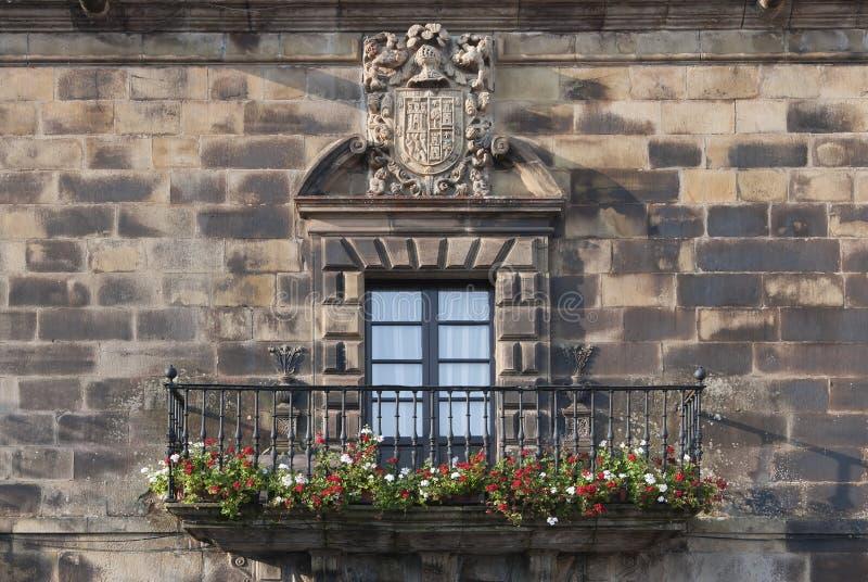 Heraldisch schild stock foto
