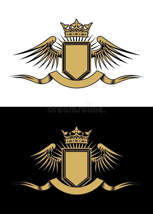 heraldry конструкции иллюстрация штока