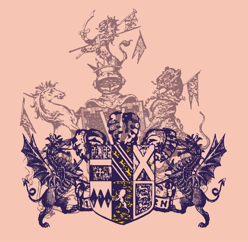 Download Heraldry Arming Royalty Free Stock Photo - Image: 12307715
