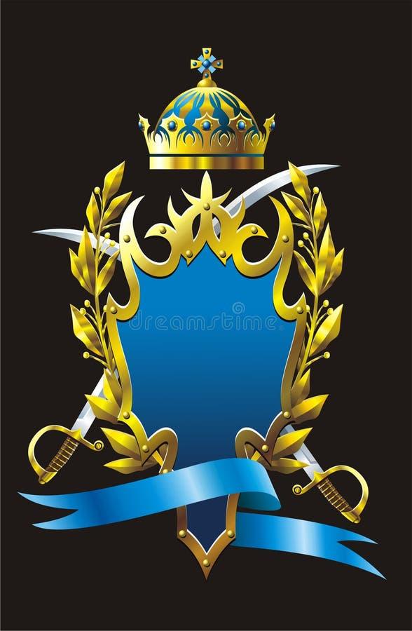Heraldry Badge Royalty Free Stock Photography