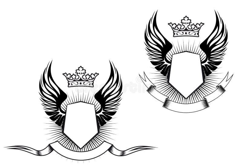 Heraldry Design Stock Image
