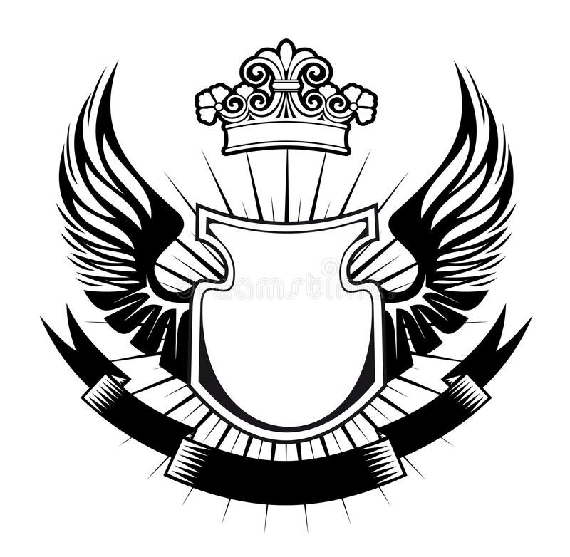 Download Heraldry design stock vector. Image of history, king - 21096831