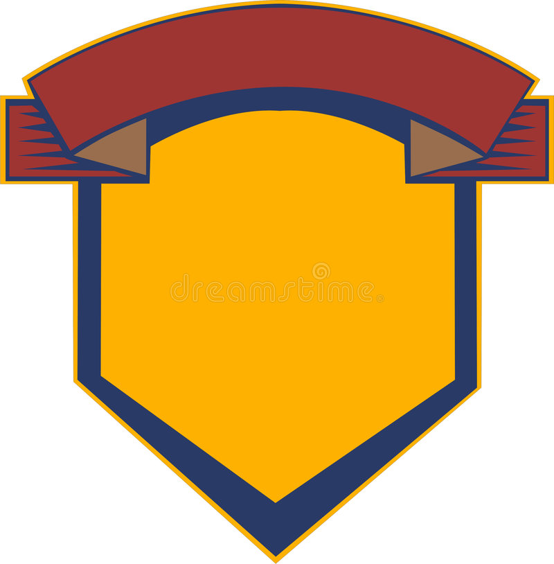 Download Heraldry shield stock illustration. Image of medieval - 2374154