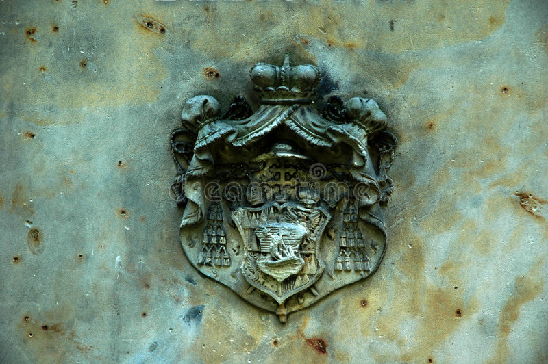 Download Heraldry sign stock photo. Image of stone, blazon, crest - 161370