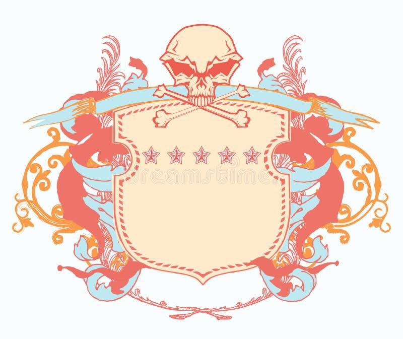 Heraldyczna osłona ilustracji