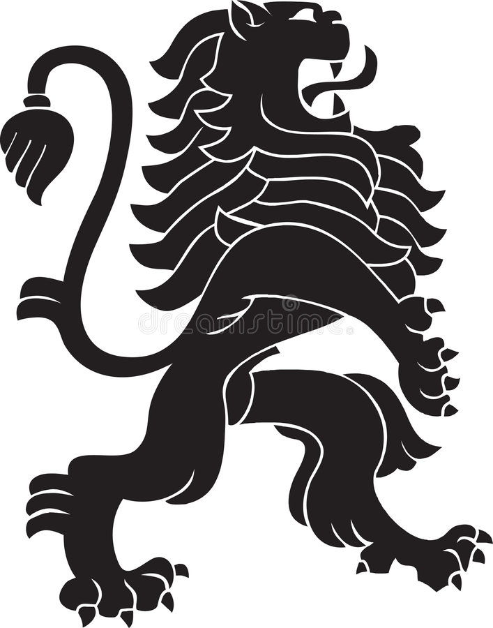 heraldyczny lew