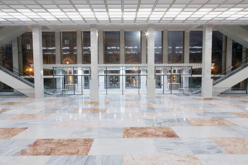 Heraldyczny lobby przy stanu Kremlin pałac zdjęcie stock