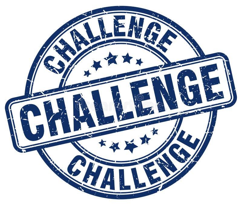 Herausforderungsstempel lizenzfreie abbildung