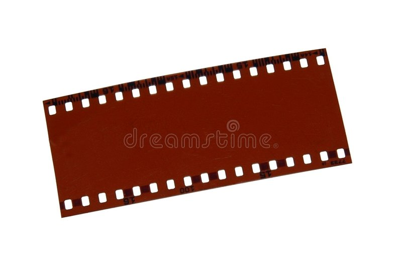 Herausgestellter Film Lizenzfreie Stockbilder
