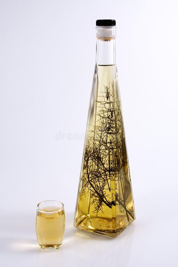 Herb Brandy royalty free stock image