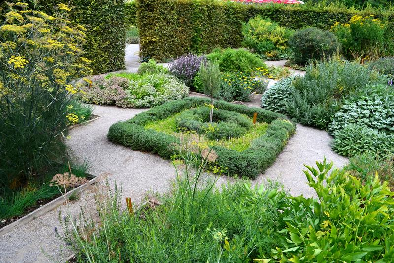 Herb Garden royalty-vrije stock afbeeldingen