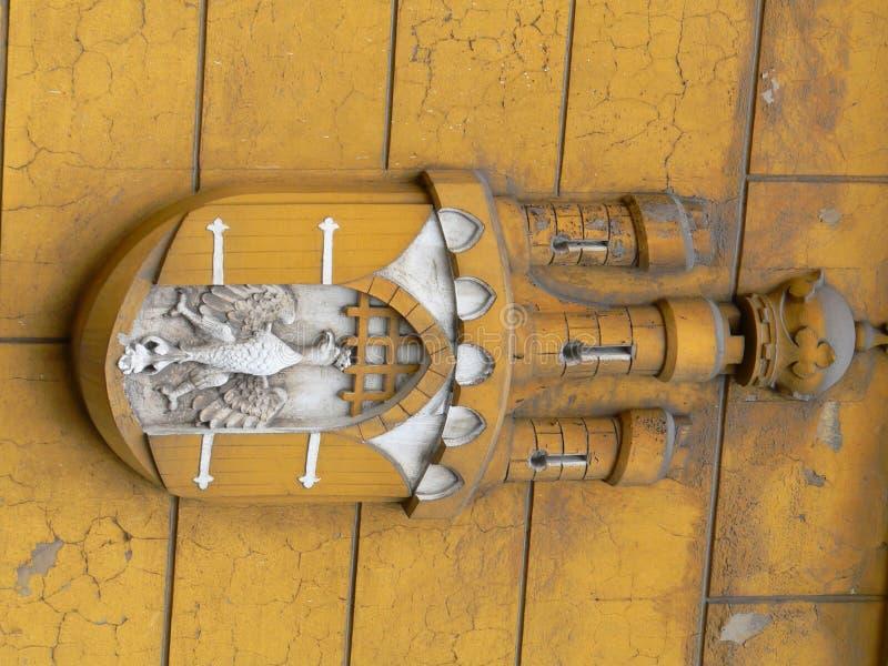 herb, Krakow zdjęcie royalty free