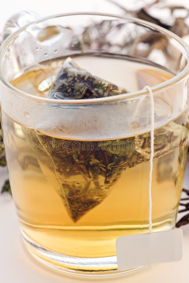 Herb Tea stock image